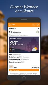 Hindu Weather Calendar apk screenshot