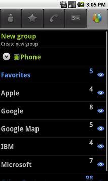 cContacts AD apk screenshot