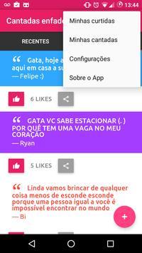 Cantadas Enfadonhas apk screenshot