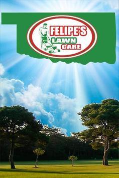 Felipe's Lawn Care poster