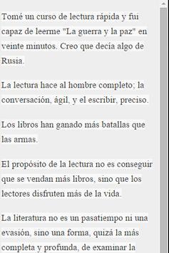 Frases Celebres apk screenshot