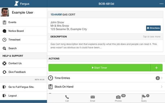 Fergus Mobile Beta apk screenshot