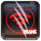 hacker password wifi prank icon