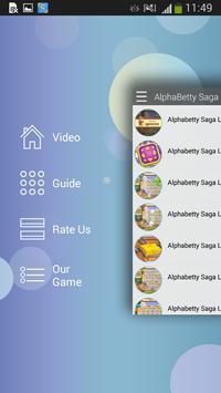 Guide for AlphaBetty Saga apk screenshot
