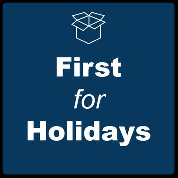 First for Holidays poster