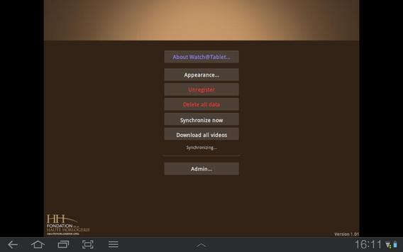 Watch@Tablet apk screenshot