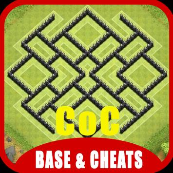 Base & Cheats for CoC poster