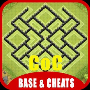 Base & Cheats for CoC apk screenshot