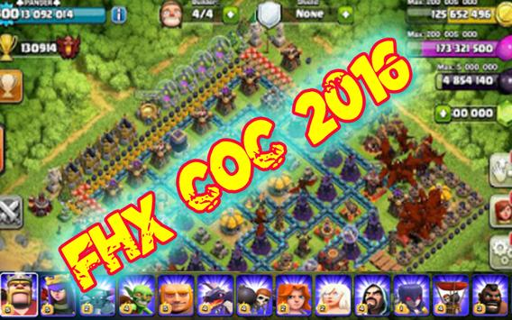 Tips for FHx-Server CoC Latest apk screenshot