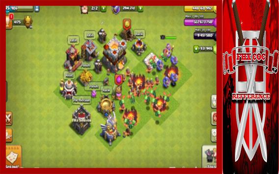 FHX COC TH 11 Reference apk screenshot