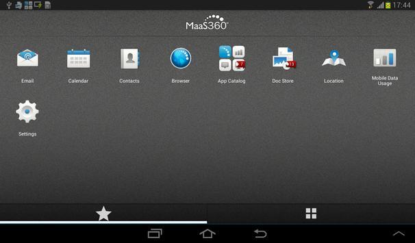 MaaS360 Kiosk for Lenovo apk screenshot