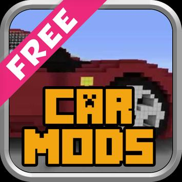 Mods Cars For MCPE poster