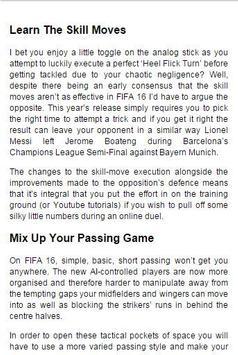Guide For FIFA apk screenshot