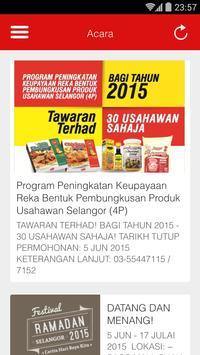 Usahawan Selangor apk screenshot