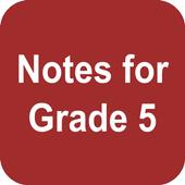 Grade 5 Notes icon