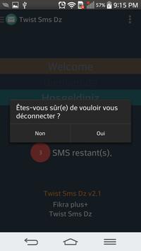 Twist Sms Dz apk screenshot