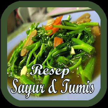 Buku Resep Sayur & Tumis poster
