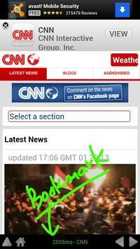Big Font Browser, Big Browser apk screenshot