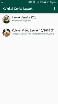 Koleksi Cerita Lawak apk screenshot