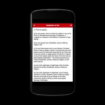 Indian Succession Act apk screenshot