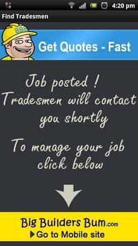 Find Tradesmen / Builders apk screenshot