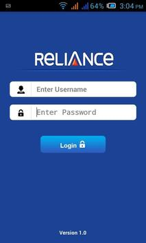 Reliance GSM Employee poster