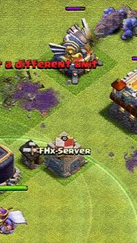 Server Clash V8 Fhx apk screenshot