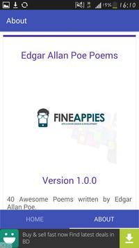 Edgar Allan Poe Poems apk screenshot