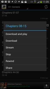 Bible ASV audiobook & ebook apk screenshot