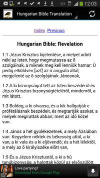 Hungarian Bible Translation apk screenshot