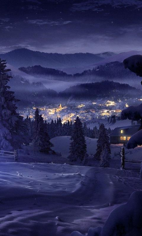snow fall live wallpaper snowfall live wallpaper is a beautiful live