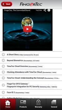 FingerTec apk screenshot