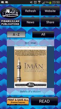 Fisabilillah Books Free poster