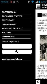 Fira Amposta 2013 apk screenshot