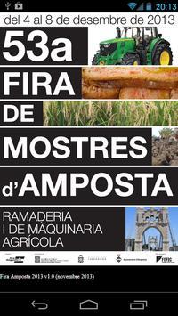 Fira Amposta 2013 poster