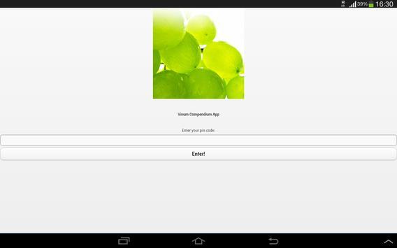 Vinum Compendium apk screenshot