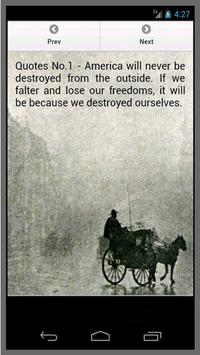 Quotes Abraham Lincoln poster