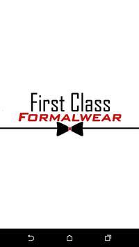 First Class Formal Wear poster