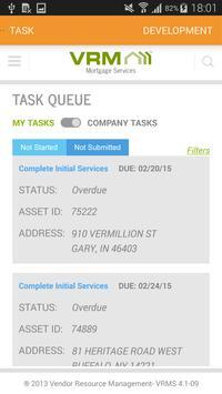 VRM Property Preservation apk screenshot