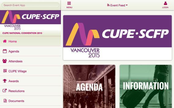 CUPE 2015 apk screenshot