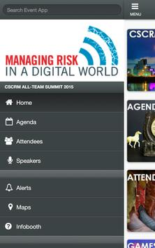 CSCRM Summit apk screenshot