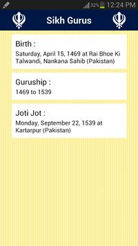 Sikh Gurus apk screenshot
