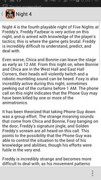 Guide for 5 Nights At Freddys apk screenshot