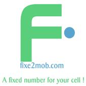 Fixe2mob: free universal num ! icon