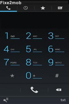 Fixe2mob: free universal num ! apk screenshot