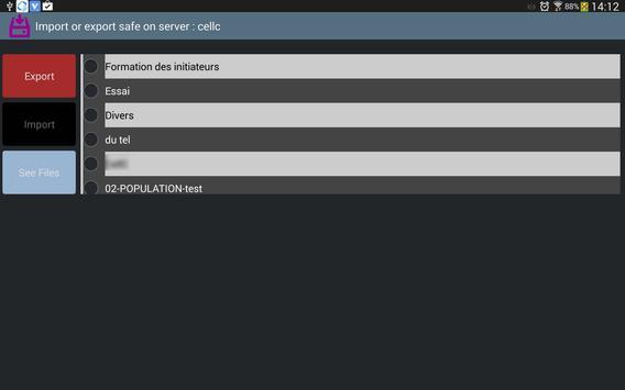 FTP LN Application apk screenshot