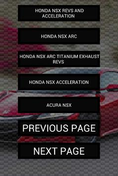 Engine sounds of NSX apk screenshot