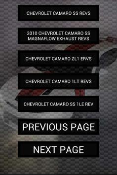 Engine sounds of Camaro apk screenshot