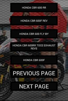 Engine sounds of CBR600RR apk screenshot