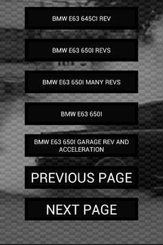 Sounds of E63 E64 M6 650i 645i apk screenshot